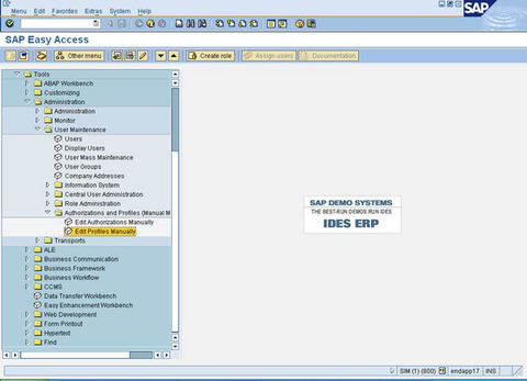 SAS® Help Center: Create and Edit a Profile