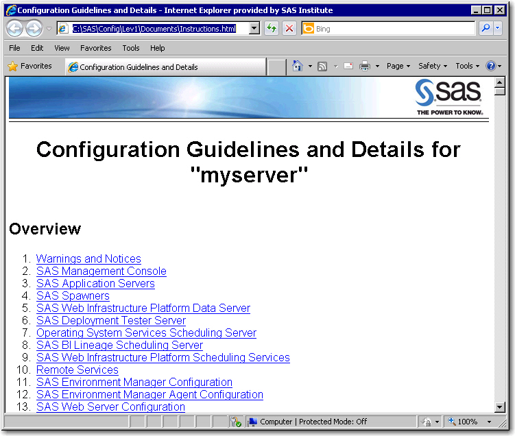 SAS 9 1 3 Management Console: Users Guide