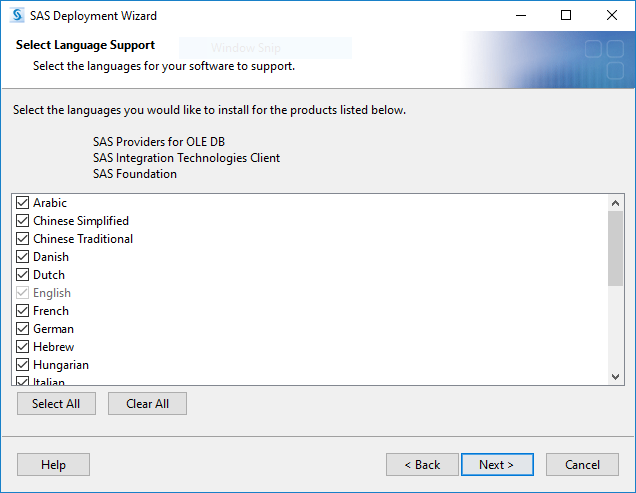 SAS® Help Center: Preparing to Install and to Configure