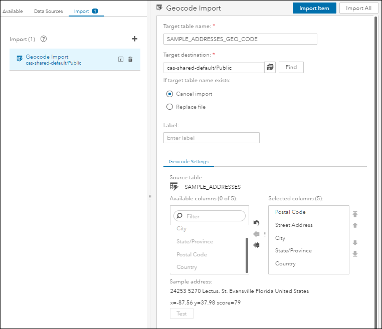 SAS Help Center: Making Data Available to CAS