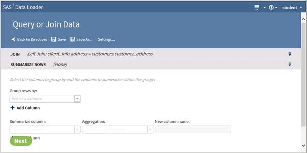 SAS® Help Center: Combine Data