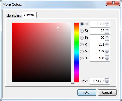 SAS Help Center: Color-Naming Schemes