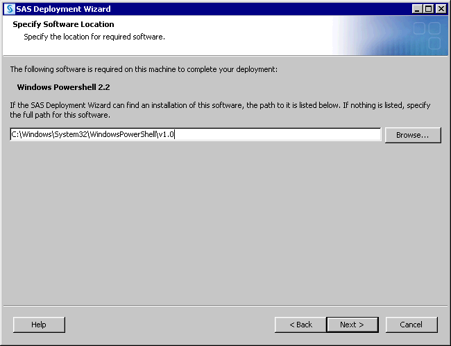 SAS Help Center: Step 3: Install and Configure SAS