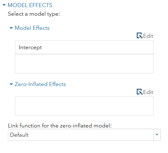 SAS® Help Center: Generalized Linear Models Task: Building a